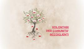 Volontari per Comunità Accoglienti - CSV Como