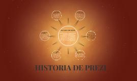 HISTORIA DE PREZI