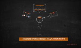 Estancia profesional en  HAS Climatization