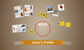Actor's Profile