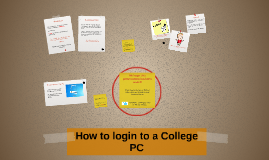 How to login to a college PC