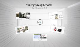 History Hero of the Week