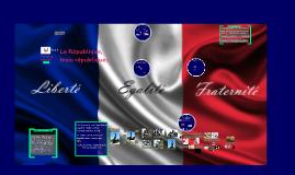 1ere L ES La République, trois républiques