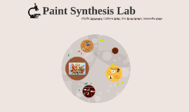 Paint Synthesis Lab