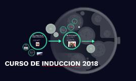 CURSO DE INDUCCION 2018
