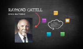 raymond cattell trait theory Raymond b cattell (1905-1998) elements of his trait theory •constitutional traits v environmental mold traits •ability traits: skill in dealing with given.