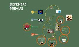 Copy of Copy of DEFENSAS PREVIAS