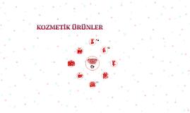 KOZMETİK ÜRÜNLER