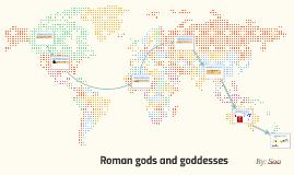Roman gods and goddesses