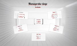 Managerske vloge