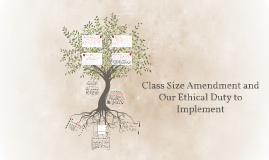 Class Size Amendment and the Ethical Duty We Have to Impleme