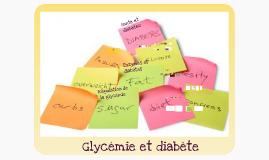 Copy of Glycémie et diabètes