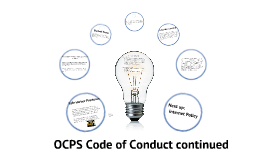 OCPS Code of Conduct per 2